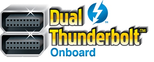 Dual Thunderbolt Onboard Gigabyte