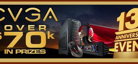 [Concurso] EVGA celebra su 13 aniversario