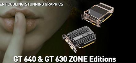 Nuevas GeForce GT 640 & GT 630 ZONE Edition de Zotac