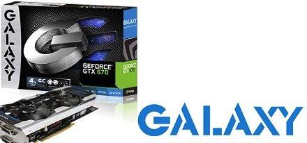 La GeForce GTX 670 GC Edition 4 GB de Galaxy aterriza en China