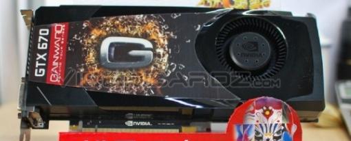 Gainward presenta su GeForce GTX 670 basada en el PCB de la GTX 680