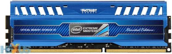 Memorias DDR3 Intel Extreme Masters Limited Edition de Patriot