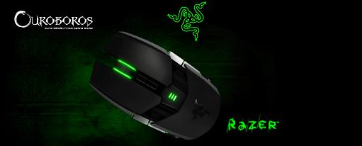 Ratón gaming Ouroboros de Razer