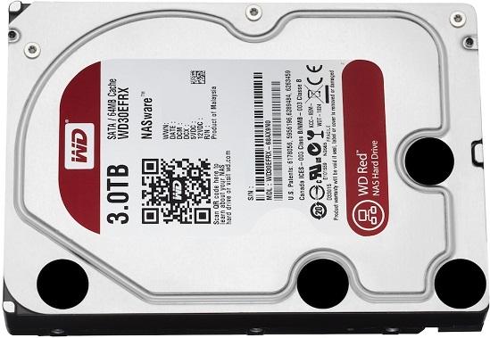 NAS Hard Drives Red de Western Digital