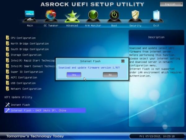 ASRock introduce la primera UEFI auto-actualizable via web