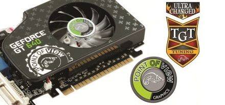 Point of View y TGT presentan su GeForce GT 640 Ultra Charged