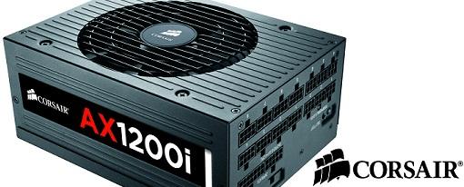 Corsair anuncia la disponibilidad de su fuente de poder AX1200i