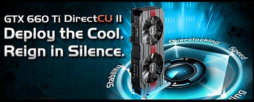 Asus anuncia sus tarjetas gráficas GeForce GTX 660 Ti DirectCU II
