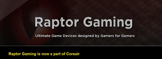 Corsair - Raptor Gaming