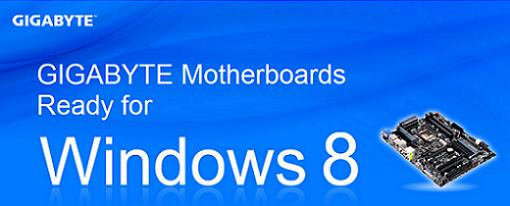 Gigabyte anuncia sus tarjetas madres AMD e Intel preparadas para Windows 8