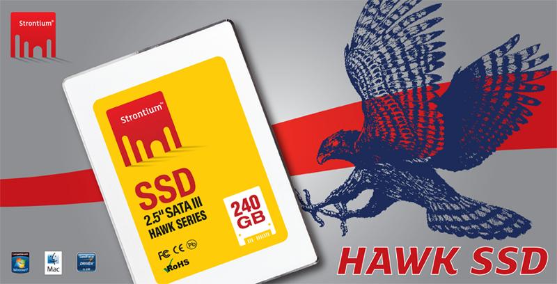 Strontium lanza discos SSD HAWK
