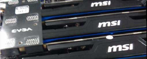 MSI GTX 660 Ti HAWK en 3-way SLI