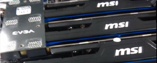 MSI GTX 660 Ti HAWK en 3-way SLI