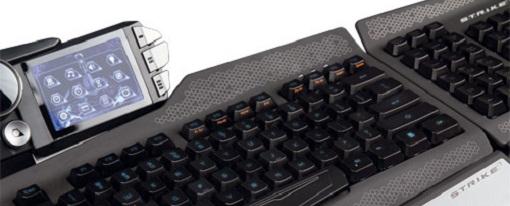 Nuevo teclado de juegos profesional S.T.R.I.K.E. 7 de Mad Catz
