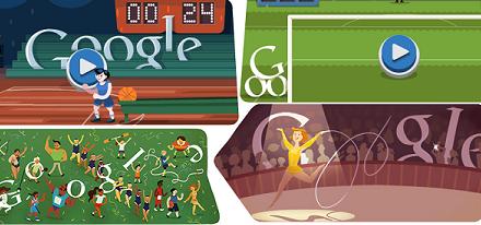Más Doodles de los Juegos Olímpicos Londres 2012