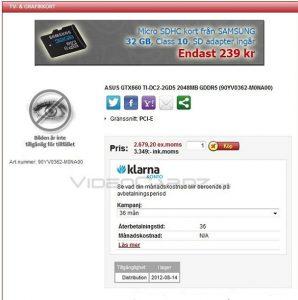 Pre-orden - GeForce GTX 660 Ti DirectCU II 2GB de Asus
