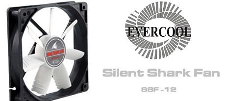Evercool lanza su serie de ventiladores Silent Shark