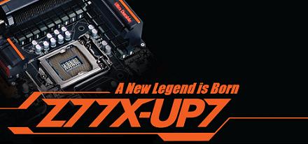 Gigabyte hace oficial su tarjeta madre Z77X-UP7