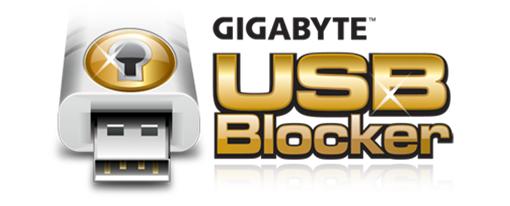 USB Blocker de Gigabyte