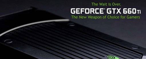 Nvidia lanza oficialmente la GeForce GTX 660 Ti