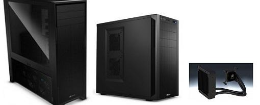 Nuevo cases y sistemas de refrigeración líquida de Corsair