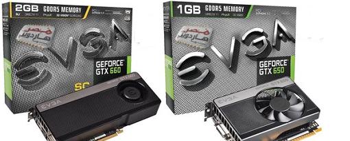Filtradas imágenes y detalles de las GeForce GTX 660 y GTX 650 de EVGA