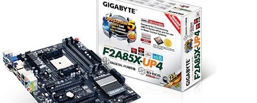Gigabyte presenta su tarjeta madre F2A85X-UP4