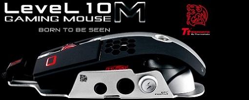 Thermaltake lanza oficialmente su mouse gaming Level 10 M