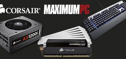 Componentes Corsair presentes en el dream machine de Maximum PC 2012