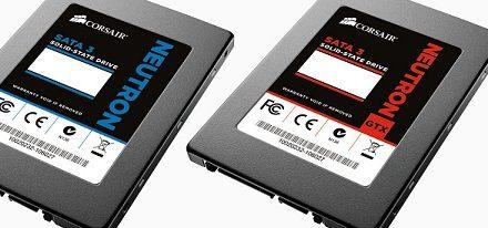 Corsair anuncia la disponibilidad de sus SSDs de la serie Neutron