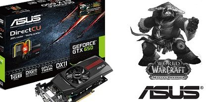 Asus GeForce GTX 650 DirectCU Pandaren Monk Pet