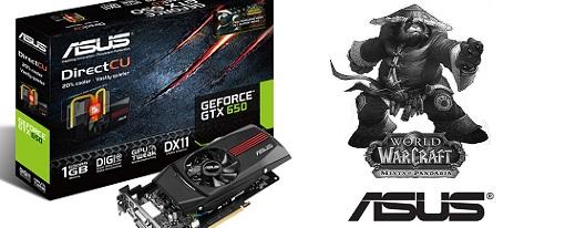Asus GeForce GTX 650 DirectCU Pandaren Monk Pet