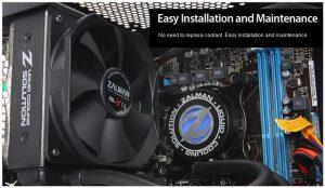 Refrigeración líquida LQ310, LQ315 y LQ320 de Zalman