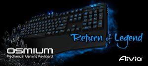 Mechanical Gaming Keyboard Aivia Osmium de Gigabyte