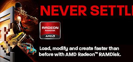 AMD lanza su utilidad gratuita Radeon RAMDisk