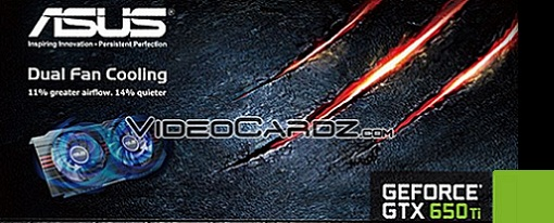 Asus prepara su GeForce GTX 650 Ti Dual-Fan