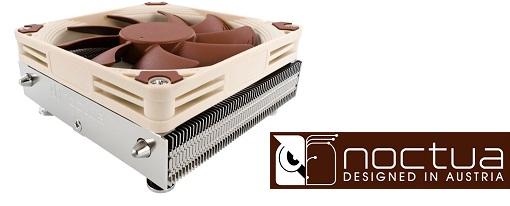 Noctua lanza sus refrigeradores para CPU de bajo perfil serie NH-L9