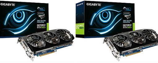 Nuevas variantes de las GeForce GTX 670 y GTX 660 Ti de Gigabyte