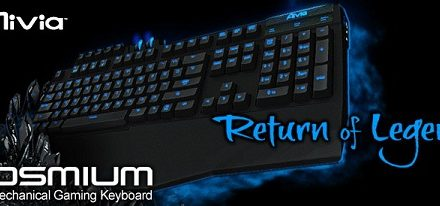 Gigabyte presenta su teclado mecánico para juegos Aivia Osmium