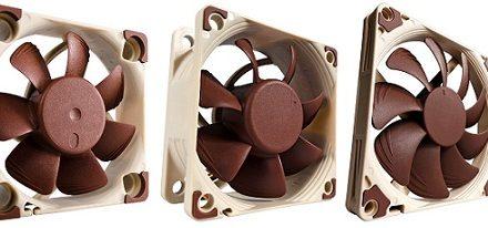 Noctua presenta sus ventiladores de 40, 60 y 92 mm de la A-series