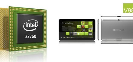 Procesadores Intel presentes en tabletas con Windows 8