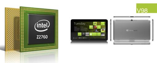 Procesadores Intel presentes en tabletas con Windows 8