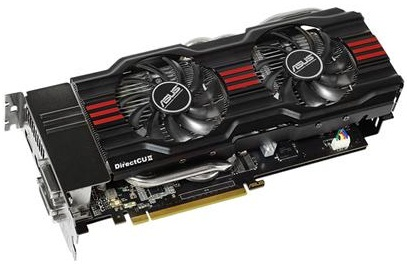 Asus GeForce GTX 680 4 GB DirectCU II - GTX680-DC2-4GD5