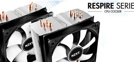 Nueva serie de CPU Coolers Respire de NZXT