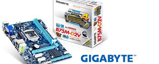 Gigabyte lanza su tarjeta madre B75M-D2V
