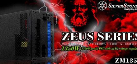 Nueva fuente de poder Zeus ZM1350 de SilverStone