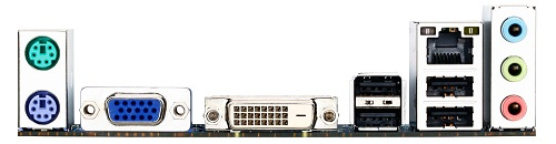 Tarjeta madre H61M-DS2 DVI de Gigabyte