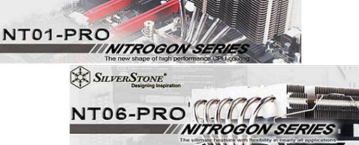 Disipadores para CPU NT06-PRO y NT01-PRO de SilverStone