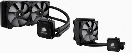 Nueva refrigeración líquida Hydro H100i & H80i de Corsair