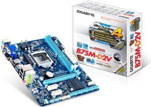 Tarjeta madre B75M-D2V de Gigabyte